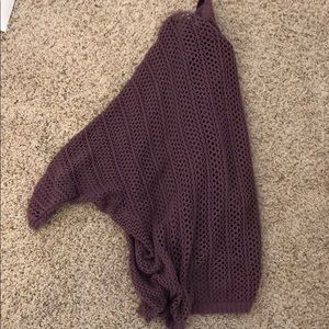 Purple Cardigan From Urban Outfitters